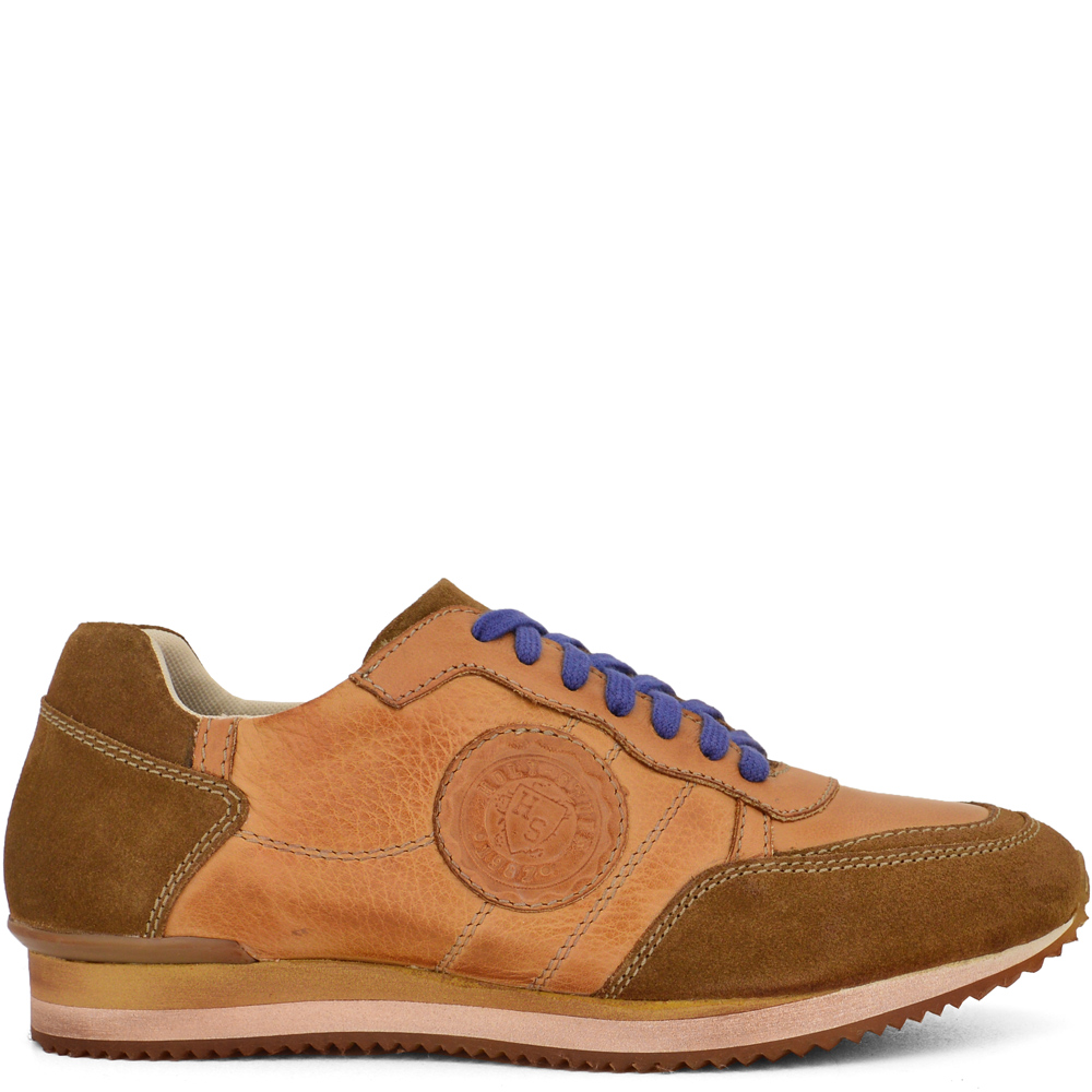 HS-S16701 ΤΑΜΠΑ ΔΕΡΜΑΤΙΝΑ SNEAKERS
